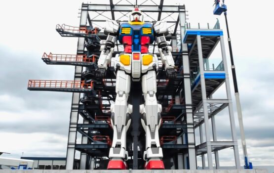 Gundam Robot: Ρομπότ 18 μέτρων…κινείται [ΒΙΝΤΕΟ]